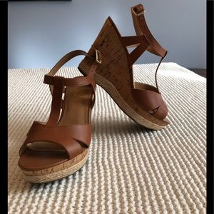 Like New Franco Sarto Wedge Sandal